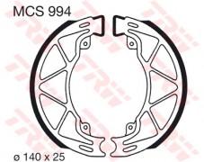 Bremsbelag TRW hinten  Piaggio  100 Fly, Zip  06-   MCS994