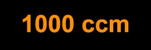 1000 ccm