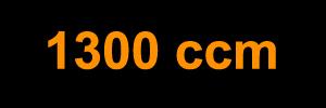 1300 ccm