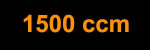 1500 ccm