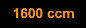 1600 ccm