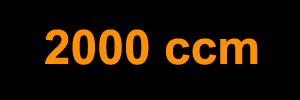 2000 ccm