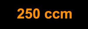 250 ccm