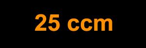 25 ccm