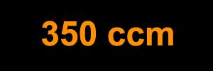 350 ccm