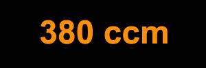 380 ccm