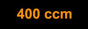 400 ccm