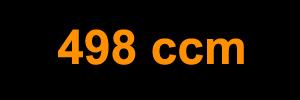 498 ccm