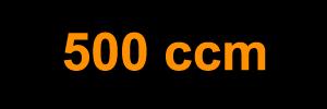 500 ccm