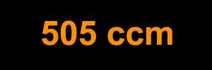 505 ccm