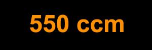 550 ccm