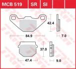 Bremsbelag TRW vorne Hyosung FX 110     FX110M 02-  MCB519EC