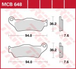 Bremsbelag TRW vorne Gas Gas   240 Wild HP     04-  MCB648RSI