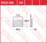 Bremsbelag TRW vorne Benelli   125 Adiva   D1 01-04  MCB696EC