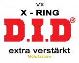 DID X-Ring Kettensatz Suzuki DR 600 85-89