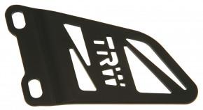 TRW Fersenschutz rechts Schwarz Bremse 6mm - MCF923S